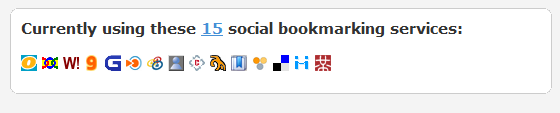 social bookmarking services