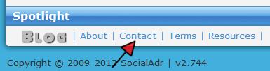 SocialAdr-Contact-Footer-Menu