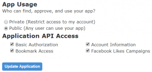 SocialAdr app privacy settings