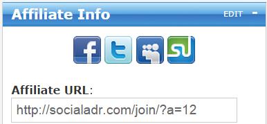 SocialAdr affiliate URL